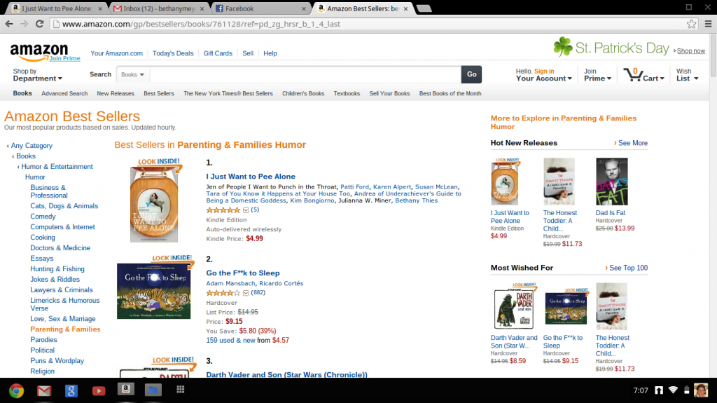 #1 Amazon Best Seller. Oh Hell Yeah